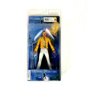 Action Figure Freddie Mercury Magic Tour 2006 by NECA 18 cm Nuova Rare
