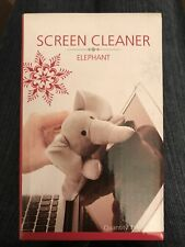 NEW In Box Bed Bath & Beyond Computer Screen Cleaner, Elephant (Microfiber)