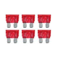 Smart Led, set 6 fusibili lamellari con spia a led, 12/24V - 10A