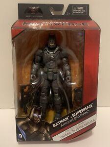 "MATTEL DC MULTIVERSE ARMORED BATMAN BvS 6"" FIGURE GRAPNEL BLASTER BAF SEALED BOX"