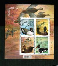 CANADA 2006 DUCK DECOYS souvenir sheet  MLH cat  #2166b $5.00   BK 440b