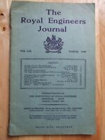 The Royal Engineers Journal, Vol LIX, March 1945 *Original Paperback*