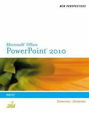 New Perspectives on Microsoft PowerPoint 2010: Brief (Available Titles Skills As