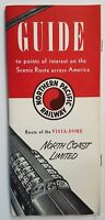 Northern Pacific Railway Travel Brochure 1965 Tourism Pamphlet Vintage Trains