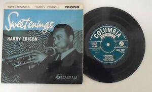Harry Edison,Sweetenings.Rare 1959 Jazz EP. SEG 7947. Ex