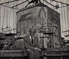 1948/72 Vintage 11x14 IMRE KERTESZ Author Holocaust Survivor Photo ANDRE KERTESZ