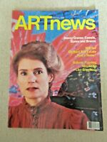 1986 ARTnews MAGAZINE Art News Nancy Graves Clyfford Still Estate Botero Paintin