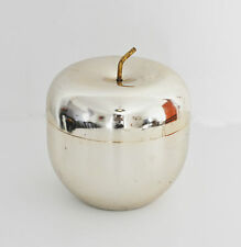 Apple Ice Bucket by Ettore Sottsass for Rinnovel Anodized Steel MELA 1st edition