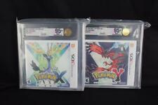 Pokemon X & Y (Nintendo 3DS, 2013) VGA Graded Gold Level 95+ Mint Uncirculated!