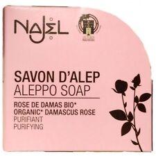 Najel Aleppo Damaskus Rosenseife 100g Seifen Original Aleppo Olive Lorbeer Rose