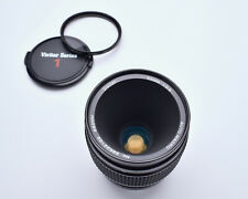 Vivitar Auto Macro 55mm f2.8 Lens Canon FD Mount Komine Classic 1/1 Caps (#4226)
