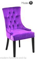 Unbranded Dining Room Velvet Chairs