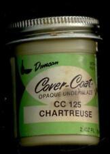 Duncan Ceramic Fire on UnderGlaze, CC 125 Chartreuse, 2 Oz Jar, 10230