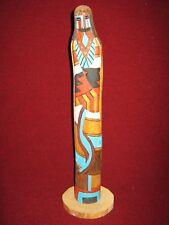 Hopi Kachina Shalako Cottonwood Carving Native American Sculpture by J. Guy #2