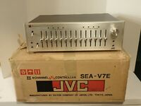 JVC SEA-V7E 4 Channel Equalizer, Orig. Box, Serviced, Works Well, Beautiful!
