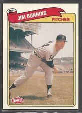 1989 Swell Baseball Greats - #7 - Jim Bunning - Detroit Tigers