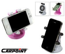 IPhone Ipod Samsung Universal Handy- Halterung Pink,360°,bis 63 mm,Handyhalter