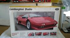 Testors 1990 Lamborghini Diablo 1/24 plastic model kit. new in the box