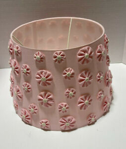 Pottery Barn Kids Ellery Flower Lamp Shade Pink NEW 2 Available
