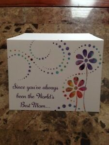 Pregnancy announcement card for Mothers becoming Grandmothers