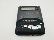 MD0936 Not Tested  SONY Portable MiniDisc Recorder MD WALKMAN MZ-R2  Black