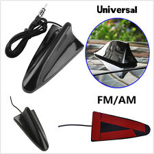 Universal Car Exterior Roof Radio AM/FM Signal Booster Shark Fin Aerial Antenna