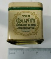 vintage THE WALNUT, John Middleton tobacco tin