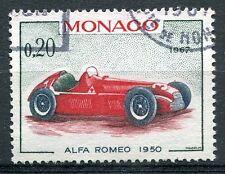 TIMBRE  MONACO N° 713   ALFA ROMEO  1950