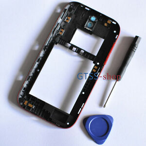 New OEM Housing Middle Panel Cover Case for HTC One SV 4G LTE Red + Free Tools