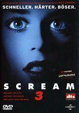 Scream 3 ( Horror-Kult ) von Wes Craven mit David Arquette, Neve Campbell,