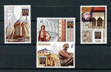 Romania 2016 MNH Discover Muntenia 4v Set Architecture Tourism Stamps
