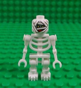 *NEW* Lego Mummy White Minifig Skeleton Minifig Scooby Doo Figure Fig x 1