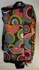 Women's Multipurpose Travel Cosmetic Makeup Bag Case Zip Top & Side Pockets