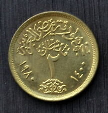 1980 Ägypten Münzen Egypt (Arab Republic) 2 Piastres km500 EF COIN CURRENCY