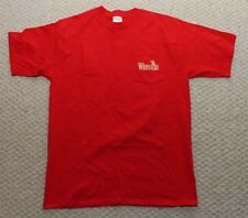 Winston Cigarettes Promo Eagle Pocket T-Shirt  - Red Mens XL Vintage 90's
