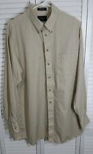 Roundtree & Yorke Dillards Mens L/Sleve Butn-Dwn Collar Soft Fabric Shirt 16½ 35