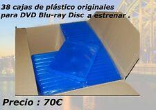 cajas de plástico originales para  DVD Blu-ray Disc