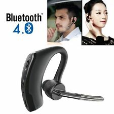 Bluetooth 4.0 Stereo Wireless Business Work Headset Earphone For iPhone Sam