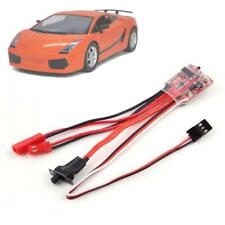 20A ESC Brushed Motor Speed Controller With Brake for RC Cars Boat Tank Truck BC