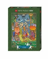 Heye Puzzles - Cartoon , 1000 Piece Jigsaw Puzzle  - Photo, Mordillo