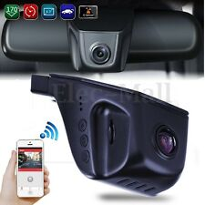 Full HD 1080P Hidden Wifi Vehicle Car Dash Cam Rear Video Camera Recorder DVR