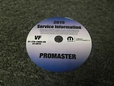 2015 Dodge Ram Promaster Cargo Van 1500 2500 3500 Service Manual CD Diesel & Gas
