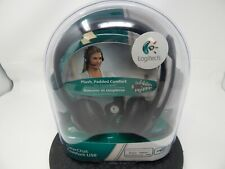 NEW Logitech ClearChat Comfort USB Headset with Noise Cancelling Mic 90442AL