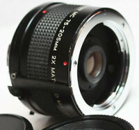 Vivitar MC 75-205mm 2X Matched Multiplier For Minolta MD Mount Manual Lens