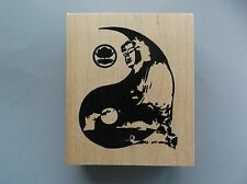 Peddler'S Pack Rubber Stamps Yin And Yang New Stamp