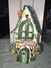 Blue Sky Clayworks Ladybug Haven Tealight Candle House Heather Goldminc 2002