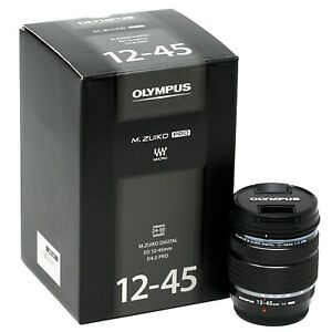Olympus M.Zuiko Digital ED 12-45mm f/4.0 PRO Black UK NEXT DAY DELIVERY