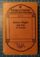 Velhagen&Klasings Band 110 Homers Odyssee und Ilias im Auszuge Y4-1077