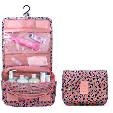 ISASSY Travel Cosmetic Makeup Toiletry Wash Organizer Storage Pouch Hanging Bag