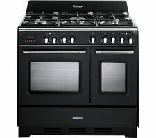 KENWOOD CK425-AN 90 cm Dual Fuel Range Cooker - Anthracite - Currys